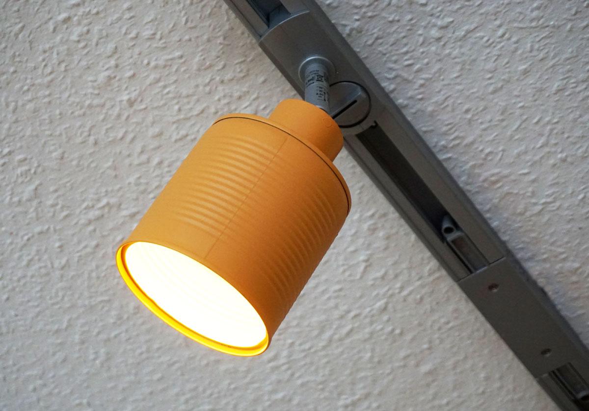Lampenschirme aus lackierten konservendosen hkierey